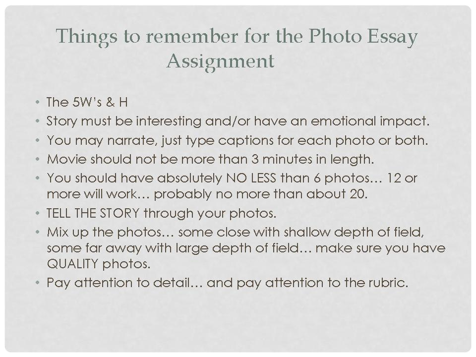 photo essay about Photo-essay ideas - ideas and tips to inspire you to create your own and how to make money from your essays.